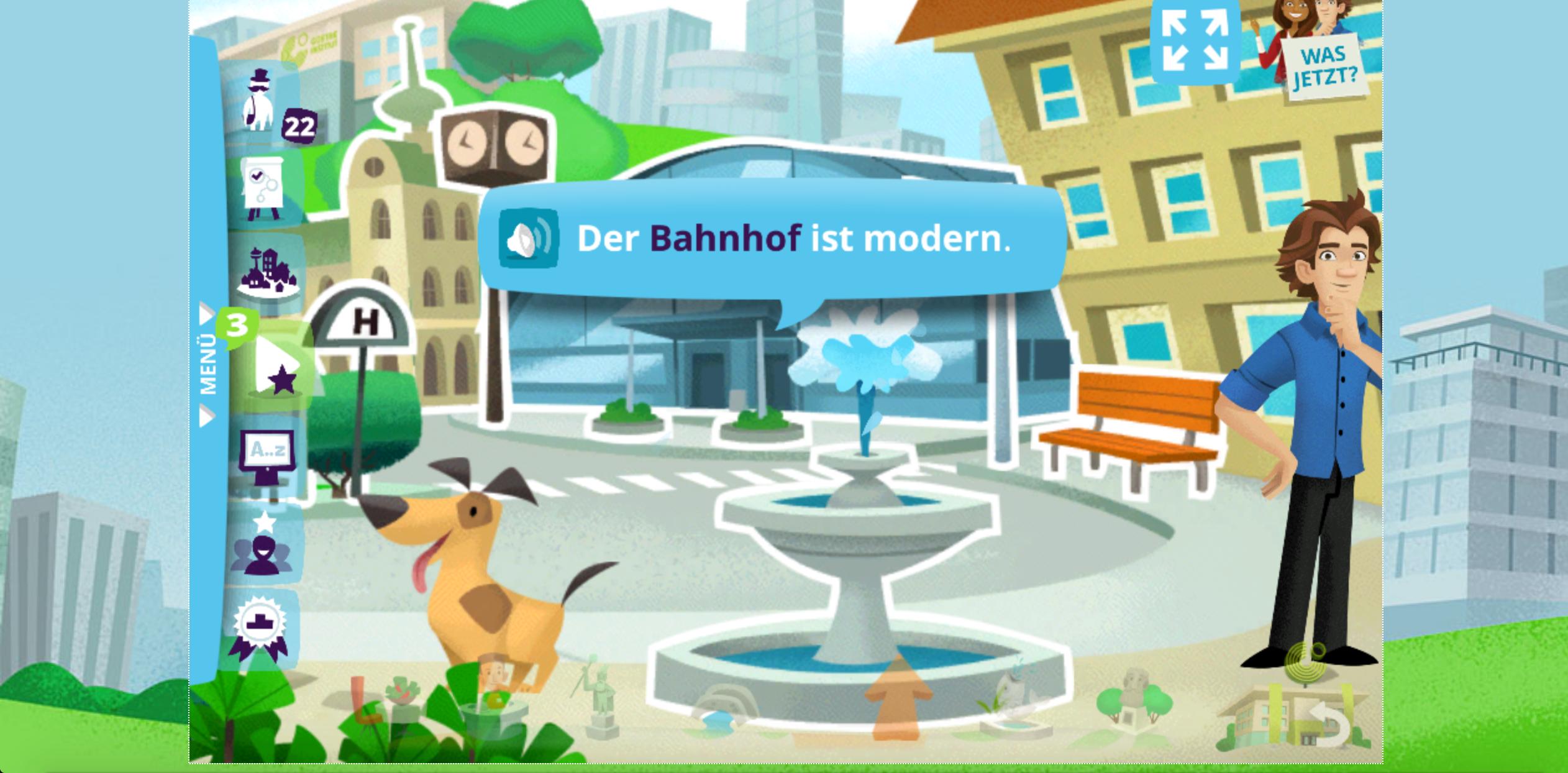 η πολη των λεξεων μαθε Γερμανικα παιζοντας